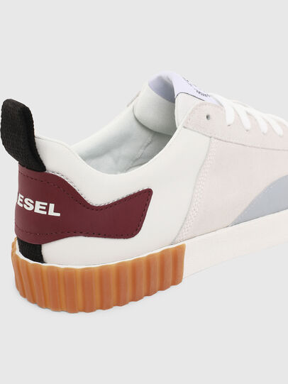 Diesel - S-BULLY LC, White/Red - Sneakers - Image 6