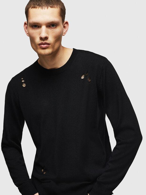 K-PLUG, Black - Knitwear