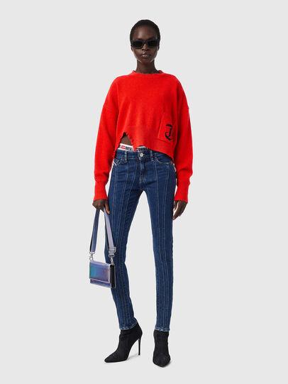 Diesel - M-IDAHI, Orange - Knitwear - Image 4