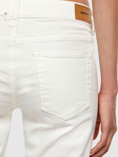 Diesel - D-Ebbey 069PA, White - Jeans - Image 4