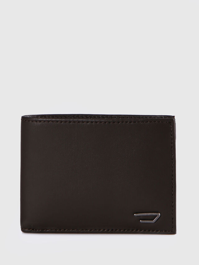 Diesel HIRESH XS, Dark Brown - Small Wallets - Image 1
