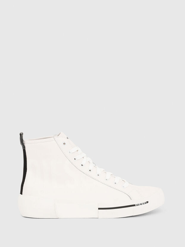 S-DESE MID CUT, White - Sneakers