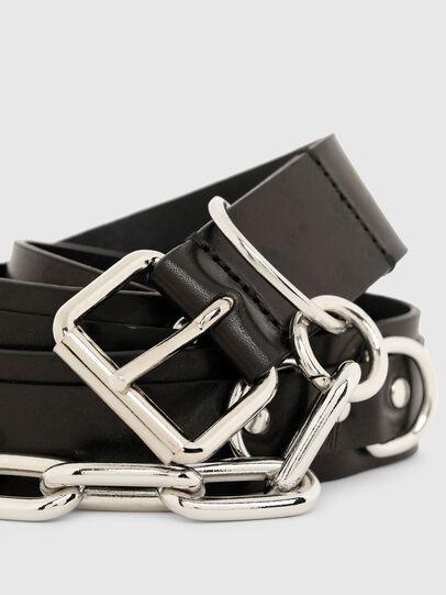 Diesel - B-RICH, Black - Belts - Image 2