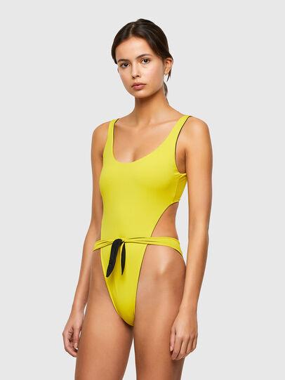 Diesel - BFSW-BOWSUIT-REV, Black/Yellow - Swimsuits - Image 4