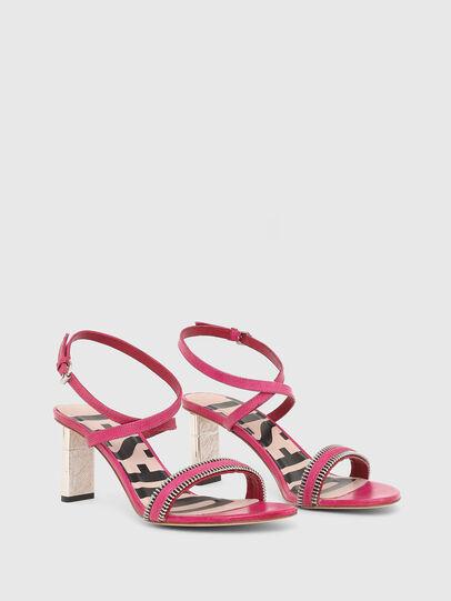Diesel - SA-LEZIPPO PL, Pink - Sandals - Image 2