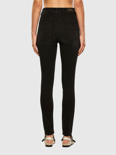 Diesel - D-Roisin High 069MZ, Black/Dark grey - Jeans - Image 2