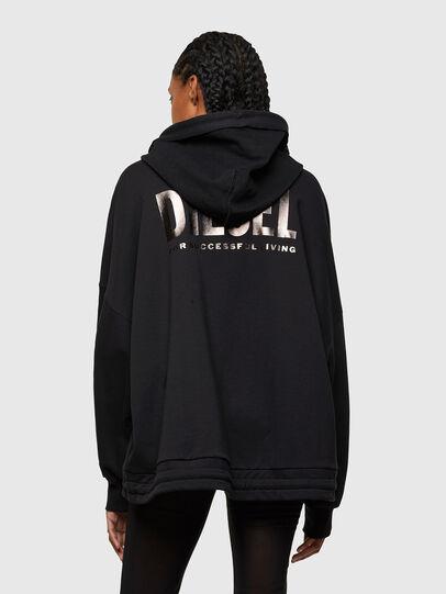 Diesel - F-BILLY-LOGO, Black - Sweaters - Image 2