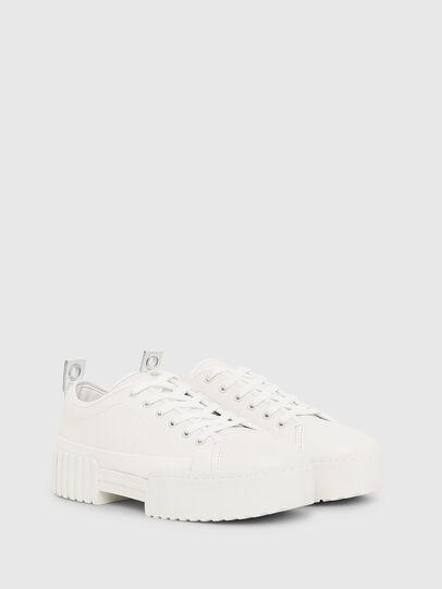 Diesel - S-MERLEY LC, White - Sneakers - Image 2