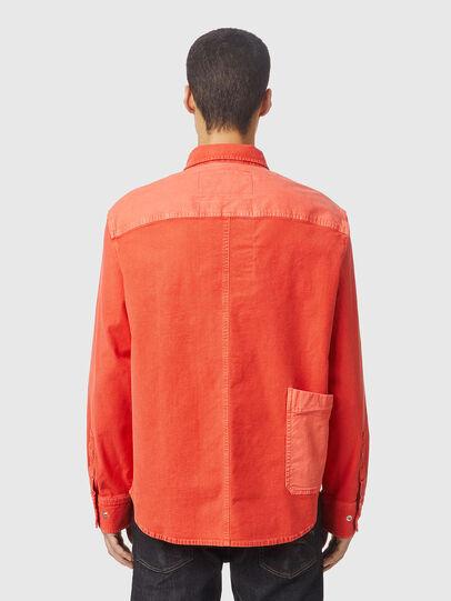 Diesel - D-HORU-SP JOGGJEANS, Orange - Denim Shirts - Image 2