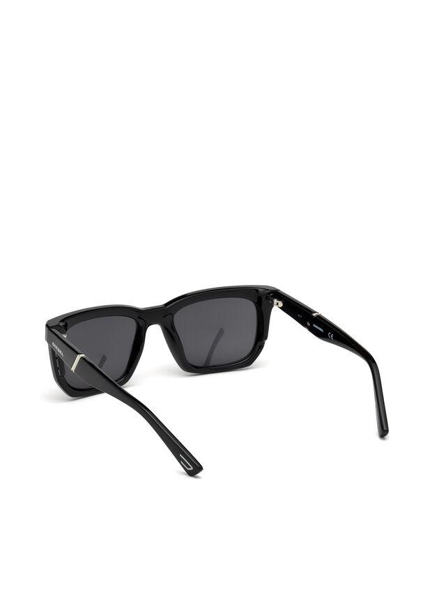 Diesel DL0254, Black - Eyewear - Image 2