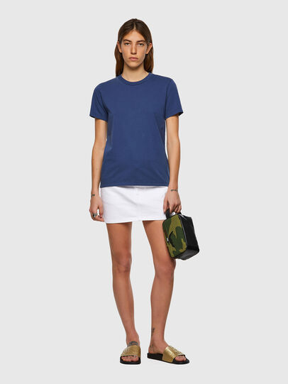 Diesel - T-SILY-B1, Blue - T-Shirts - Image 4