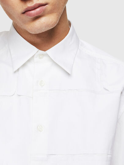 Diesel - S-AUDREY, White - Shirts - Image 5