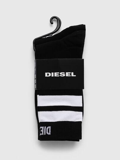 Diesel - SKM-RAY-TWOPACK, Black/White - Socks - Image 2