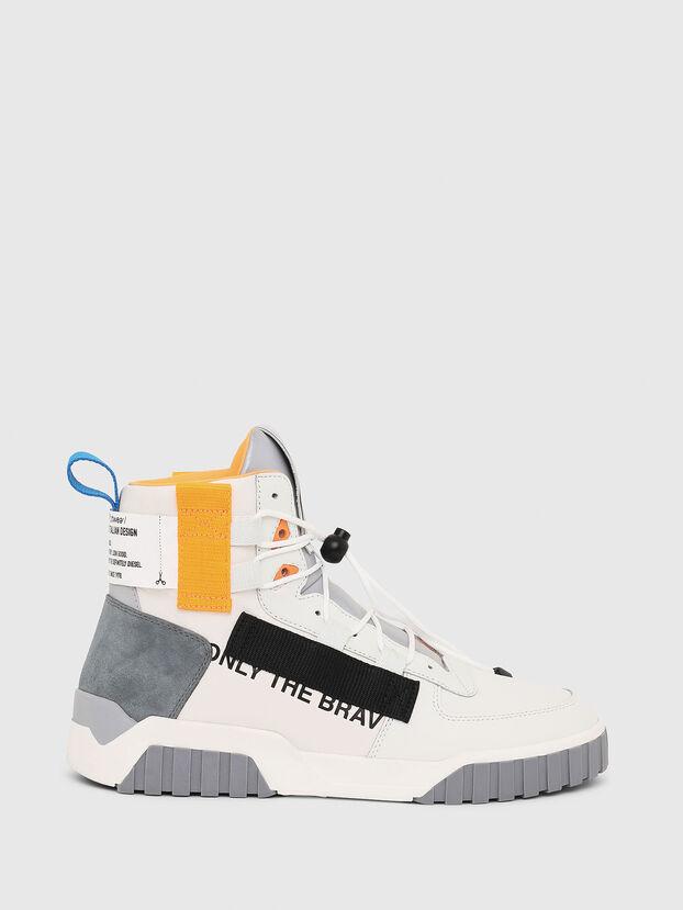 S-RUA MID SP, White - Sneakers