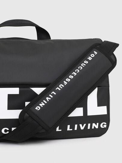 Diesel - F-BOLD MESSENGER III, Black - Crossbody Bags - Image 5