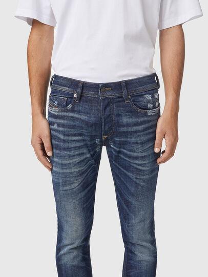 Diesel - Sleenker 09A85, Dark Blue - Jeans - Image 3