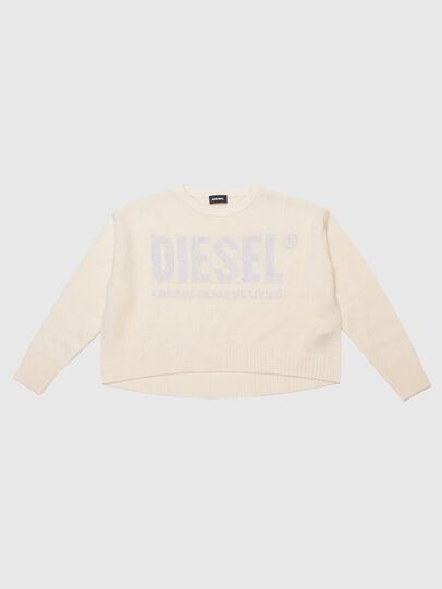 Diesel - KLUREXY, White - Knitwear - Image 1