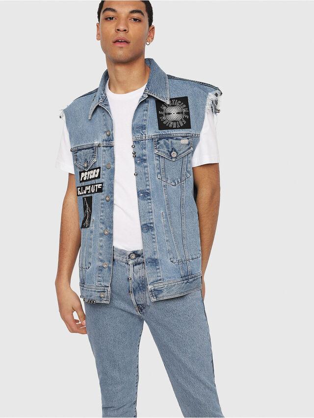 Diesel - Mharky 0077Z, Medium blue - Jeans - Image 6
