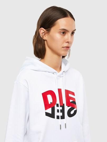 Diesel - S-GIRK-HOOD-N1, White - Sweaters - Image 6