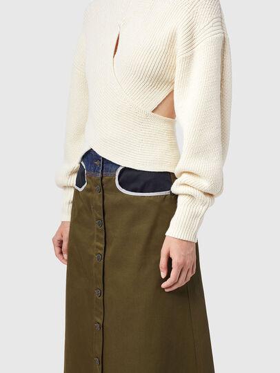 Diesel - M-RHODY, White - Knitwear - Image 4