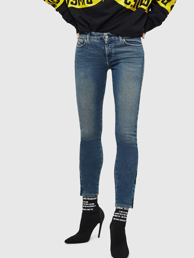 Slandy Zip 083AL, Medium blue - Jeans