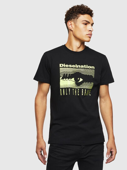 Diesel - T-DIEGO-J4, Black - T-Shirts - Image 1