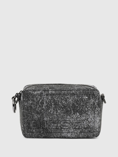 Diesel - ROSA' P, Grey - Crossbody Bags - Image 1