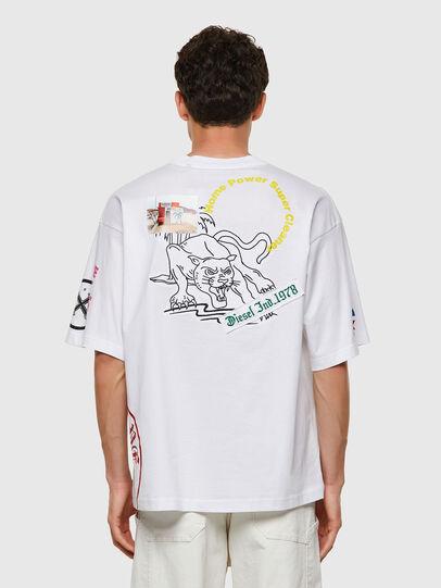 Diesel - T-BALM-B2, White - T-Shirts - Image 2