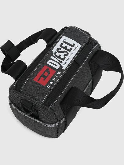 Diesel - MINI DUFFLE, Dark grey - Bags - Image 5