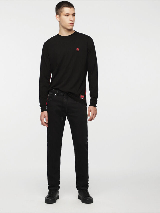 Diesel - DVL-TUNI-CAPSULE, Black - T-Shirts - Image 4
