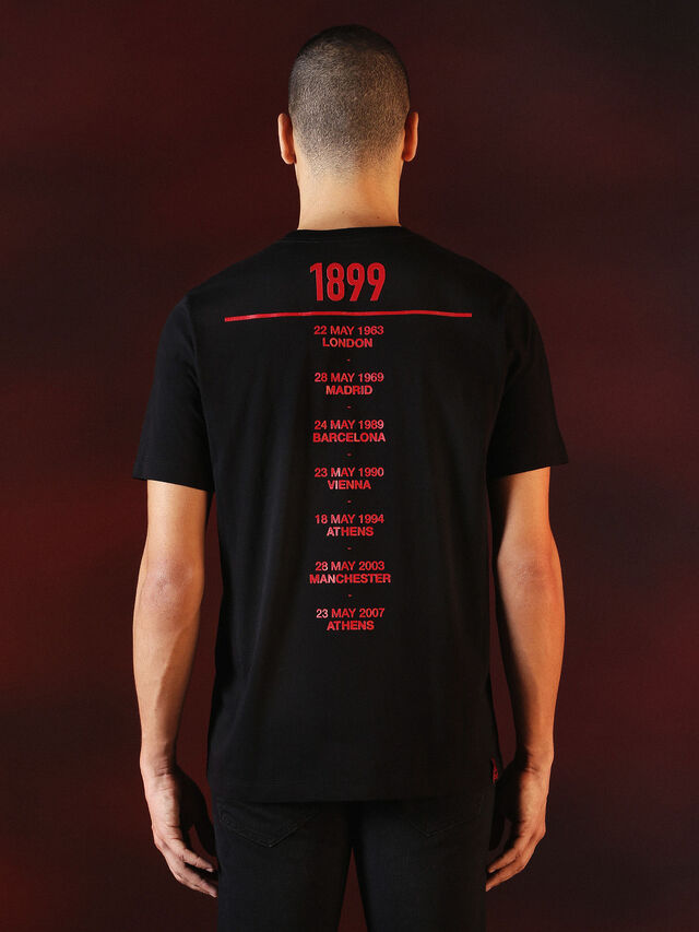 Diesel - DVL-TSHIRT-PRINT-SPECIAL COLLECTION, Black - T-Shirts - Image 3