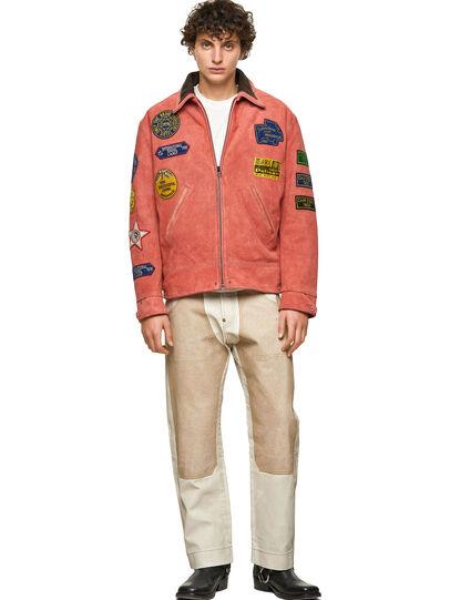 Diesel - DxD-3, Orange - Leather jackets - Image 7