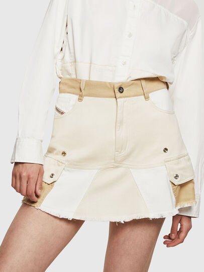 Diesel - O-AMATA-A, Cream - Skirts - Image 1