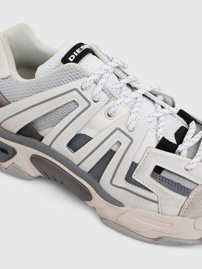 Diesel - S-KIPPER LOW TREK, White/Grey - Sneakers - Image 6