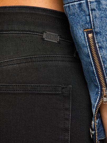 Diesel - Slandy 069GG, Black/Dark grey - Jeans - Image 4