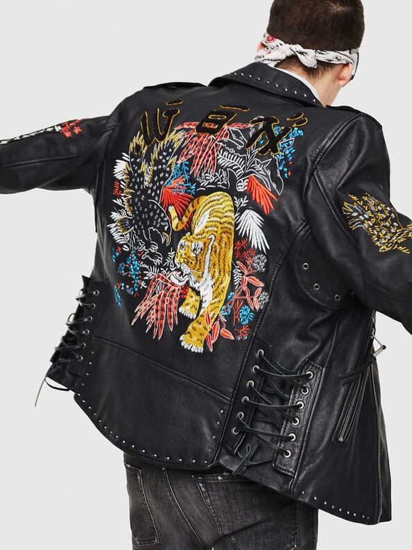 L-JUNER,  - Leather jackets