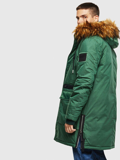 Diesel - W-BULLISK, Dark Green - Winter Jackets - Image 7