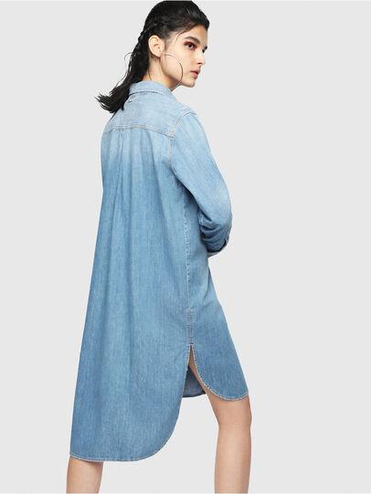 Diesel - DE-BLANCHE, Light Blue - Dresses - Image 2