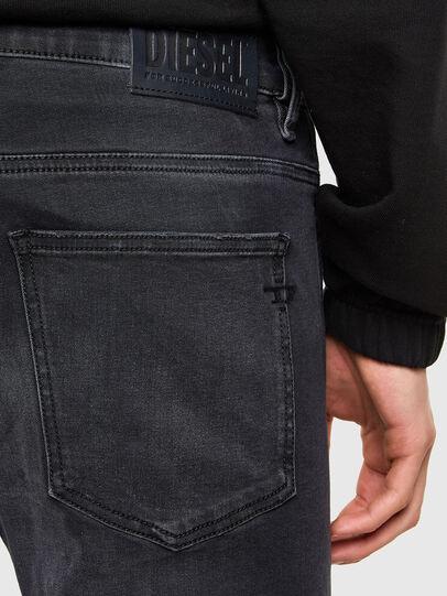 Diesel - D-Istort 069SB, Black/Dark grey - Jeans - Image 4