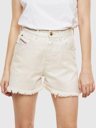 Diesel - DE-EISELLE, White - Shorts - Image 1