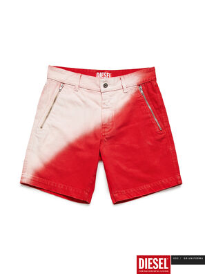 GR02-P303, Red/White - Shorts
