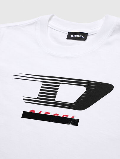 Diesel - TJUSTY4, White - T-shirts and Tops - Image 3