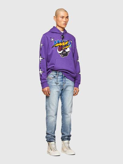 Diesel - CL-S-GIRK-HOOD-O1, Violet - Sweaters - Image 7