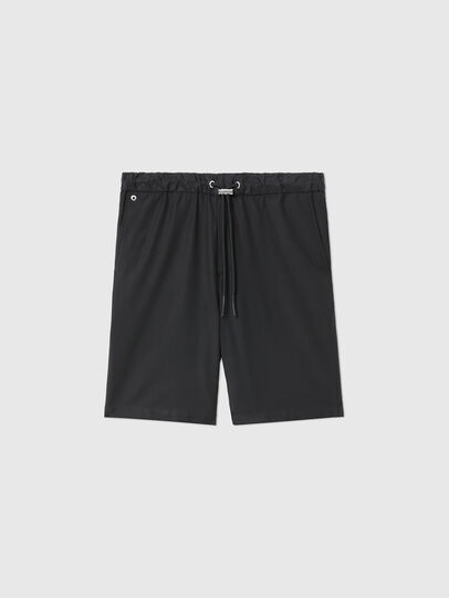 Diesel - P-RUST-SHO, Black - Shorts - Image 1