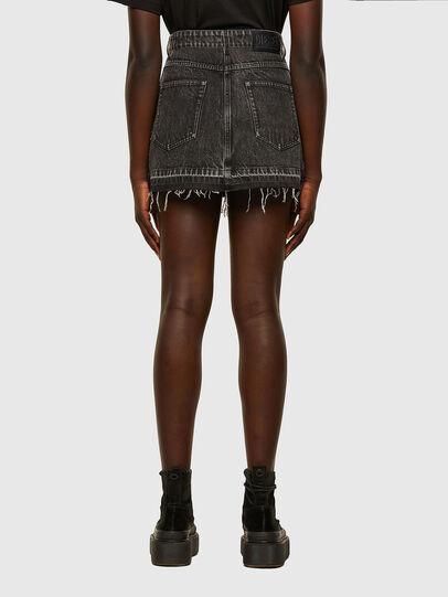 Diesel - O-SAN, Violet/Black - Skirts - Image 2