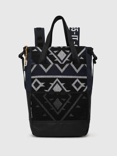 Diesel - ALASK, Dark Blue - Shopping and Shoulder Bags - Image 1