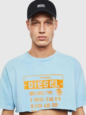 T-CROPPY, Azure - T-Shirts