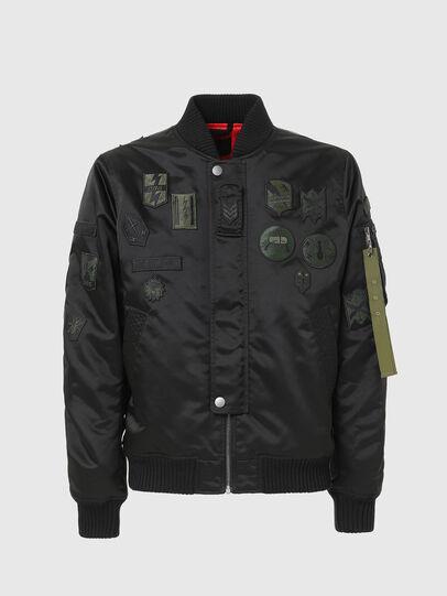 Diesel - W-LOVICH, Black - Jackets - Image 1
