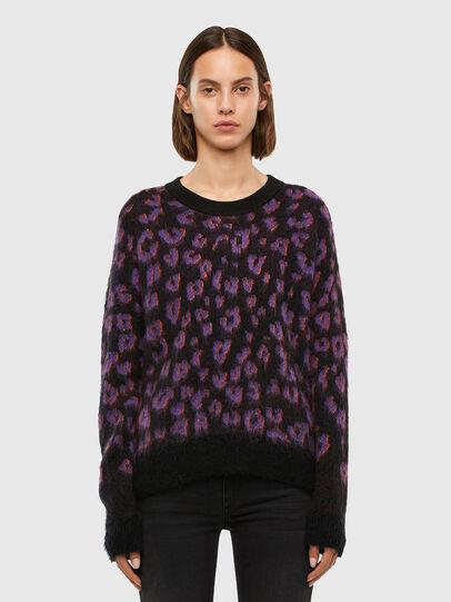 Diesel - M-RHONDA, Violet/Black - Knitwear - Image 1