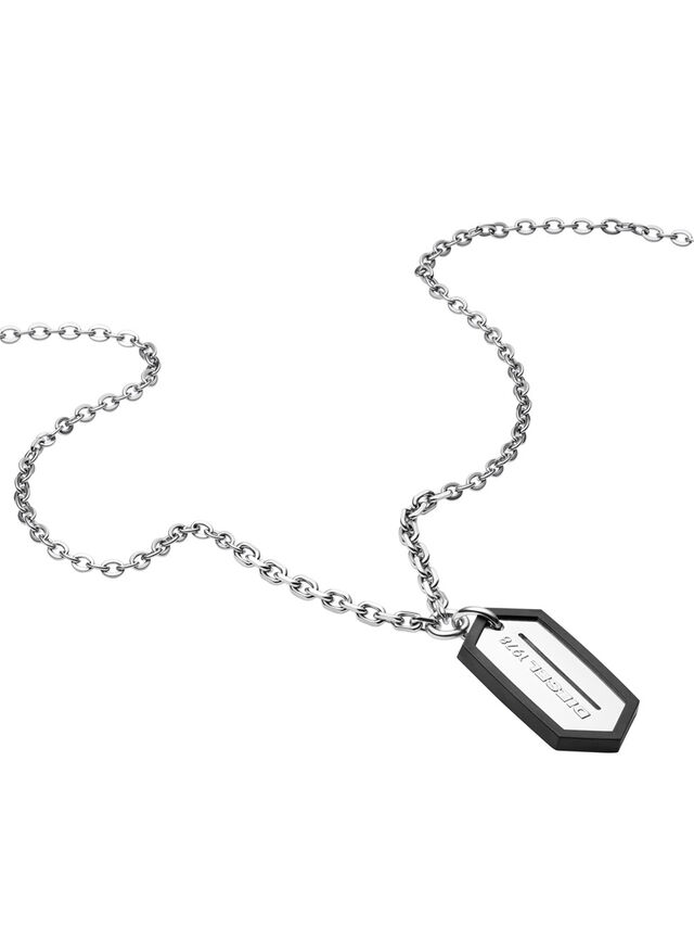 Diesel NECKLACE DX0996, Silver - Necklaces - Image 2